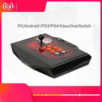 Cdragon USB Rocker Game Controller Arcade Joystick Gamepad Fighting Stick For For Android Plug And Play Street Fighting Feeling