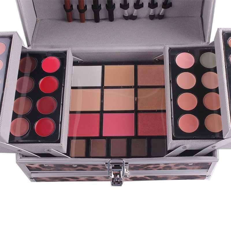 MISS ROSE Professionele Make-Up Palet Sets Combo matte & shimmer oogschaduw Concealer Verhelderende waterdichte foundation make-up kit