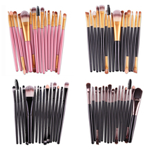 Makeup Brushes Set 15 Pcs/set Foundation Eyeshadow Eyeliner Lip Brand Make Up Eye Brushes Set Professional Cosmetic Makeup Brush цены