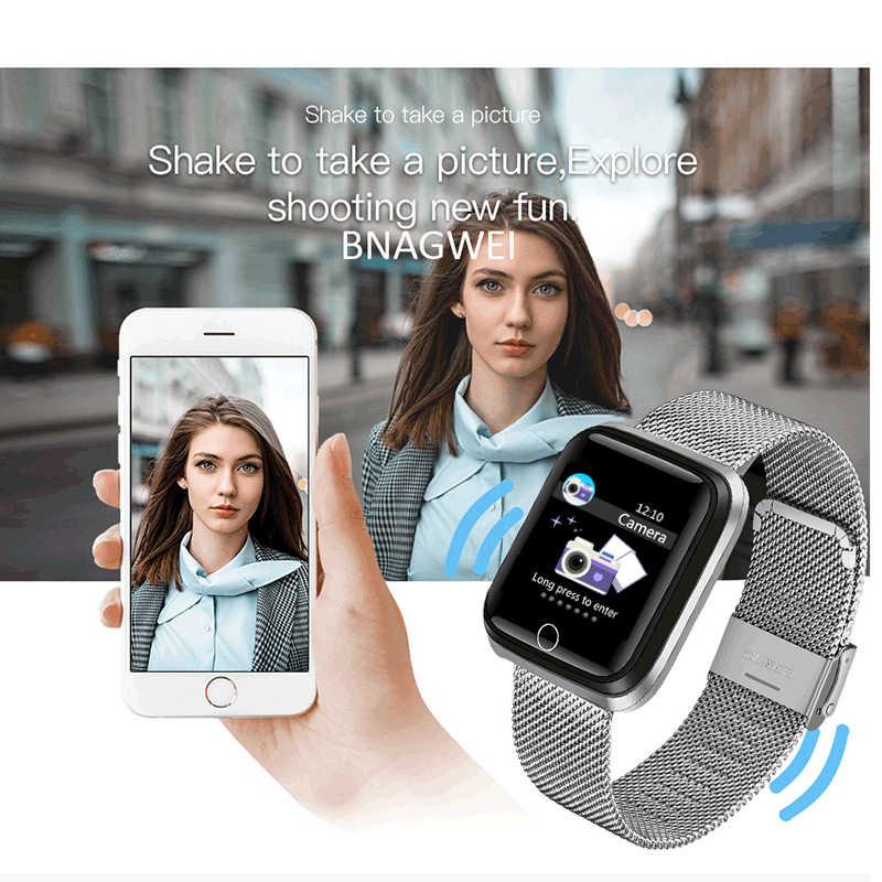 LIGE yeni spor akıllı saat kalp hızı kan basıncı pedometre çok fonksiyonlu izleme spor izci erkekler kadınlar smartwatch