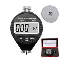 Medidor de borracha do verificador da dureza do sclerometer LX-C da costa de 0-100ha hd hc digital