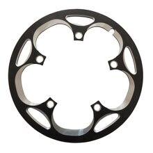 TRUYOU 130 BCD защита велосипедной цепи 44T 46T 48T 50T 52T 53T 56T 58T 60T Защитная крышка для колес из алюминиевого сплава