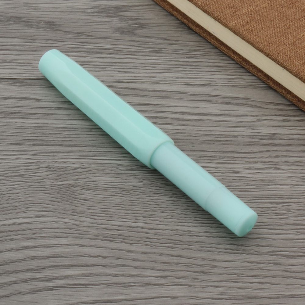 Classical Style COLOR Hexagon Pocket Travel Mint Green Gift Fountain Pen