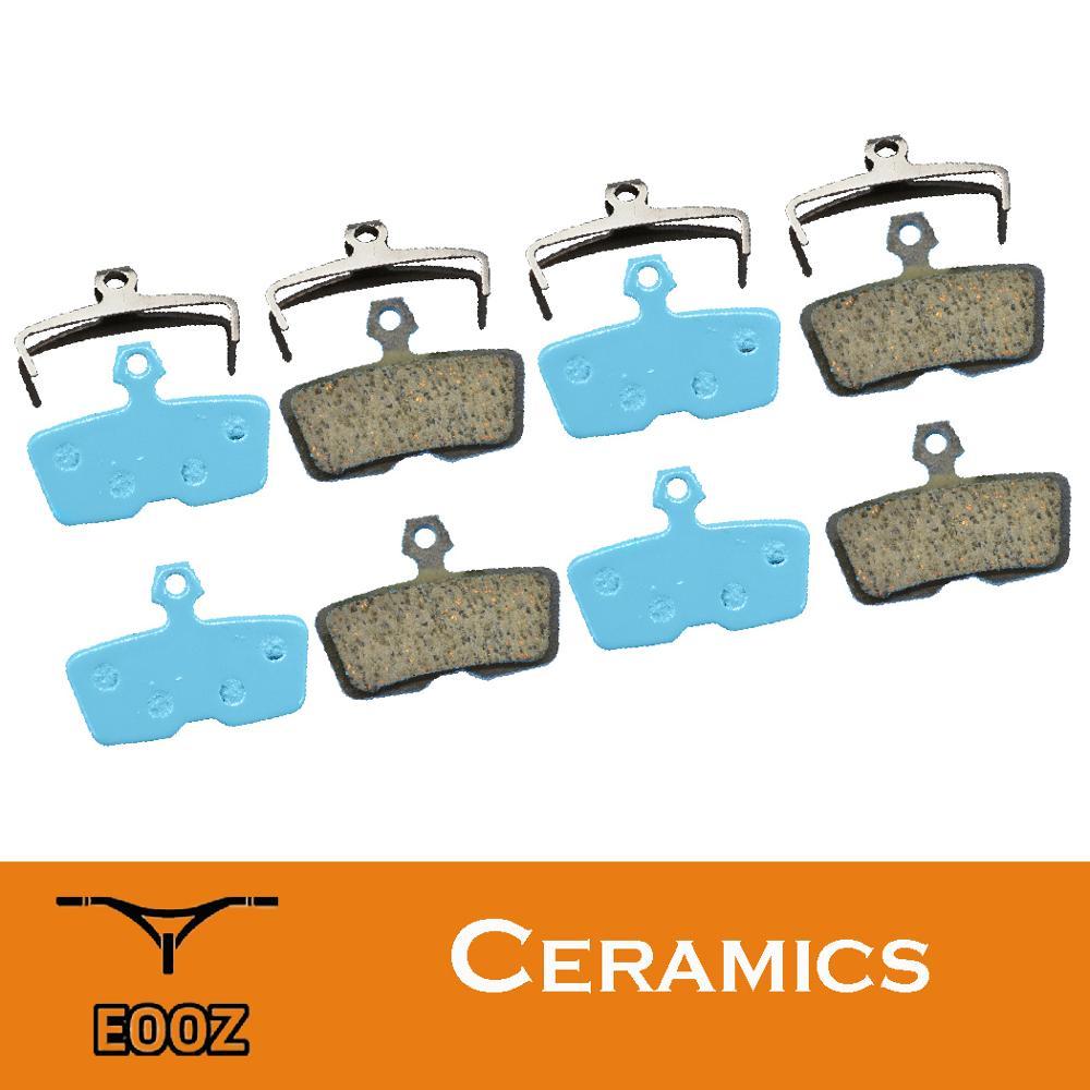 4 пары ВЕЛОСИПЕДЫ керамики гидравлические дисковые Тормозные колодки для SRAM код 2011 +/кодер интернет-телевидение RSC/руководство с возможност...