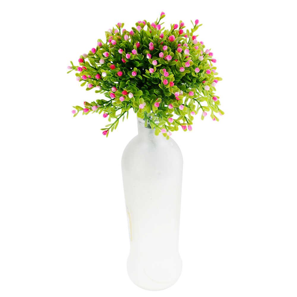 1PCS Party Dekoration Milan Künstliche Blume Hochzeit Gefälschte Blumen Home Dekorationen Festival Vergossen Dekorative Künstliche Pflanze