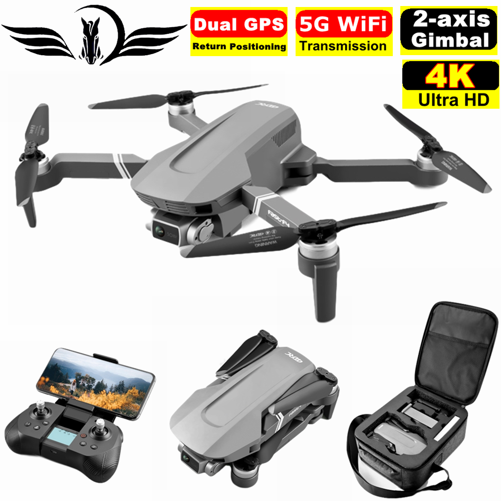 FEMA Gps-Drone Quadcopter Gimbal Camera RC 2km-Flight-25 Professional Sg906 Pro Brushless