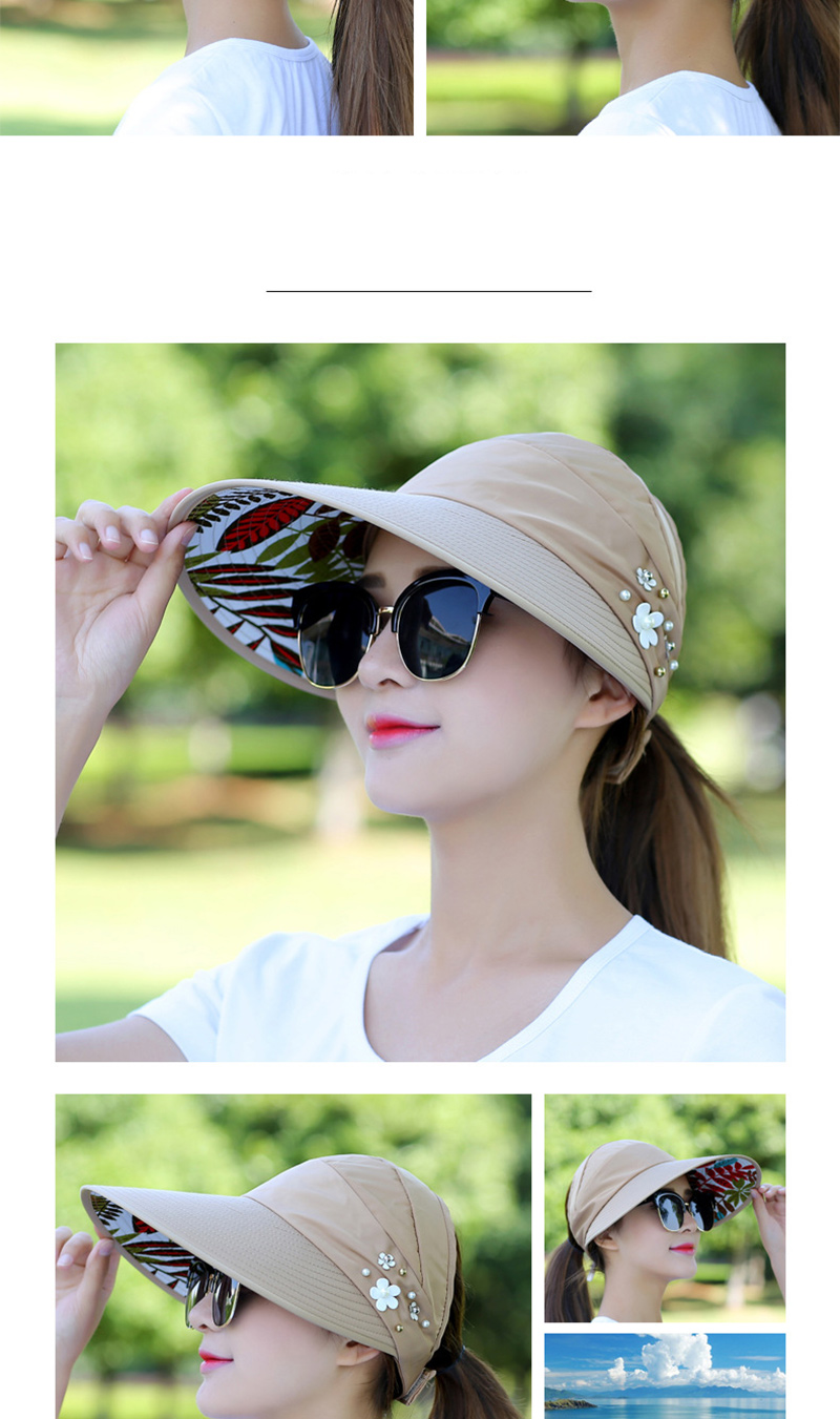 2021 Sun Hats for Women Summer Hat Canvas Beach Hat UV Protection Cap Visors Adjustable Velcro Fishing Panama Chapeu gorra MZ008