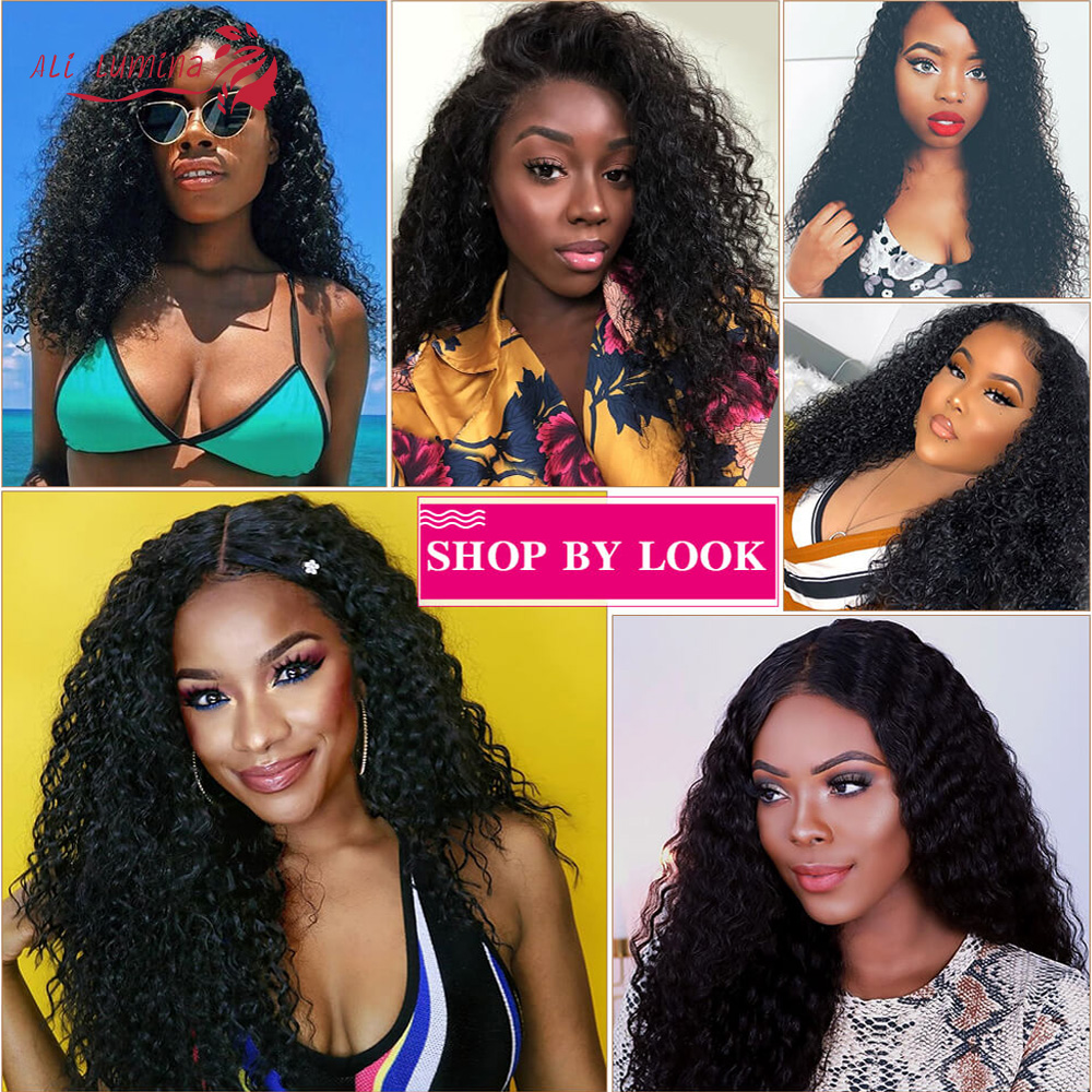 Clearance Sale Lace Closure Wig  Wigs  Sample   Hair 8 Inches Short Wig Curly  Wig 5