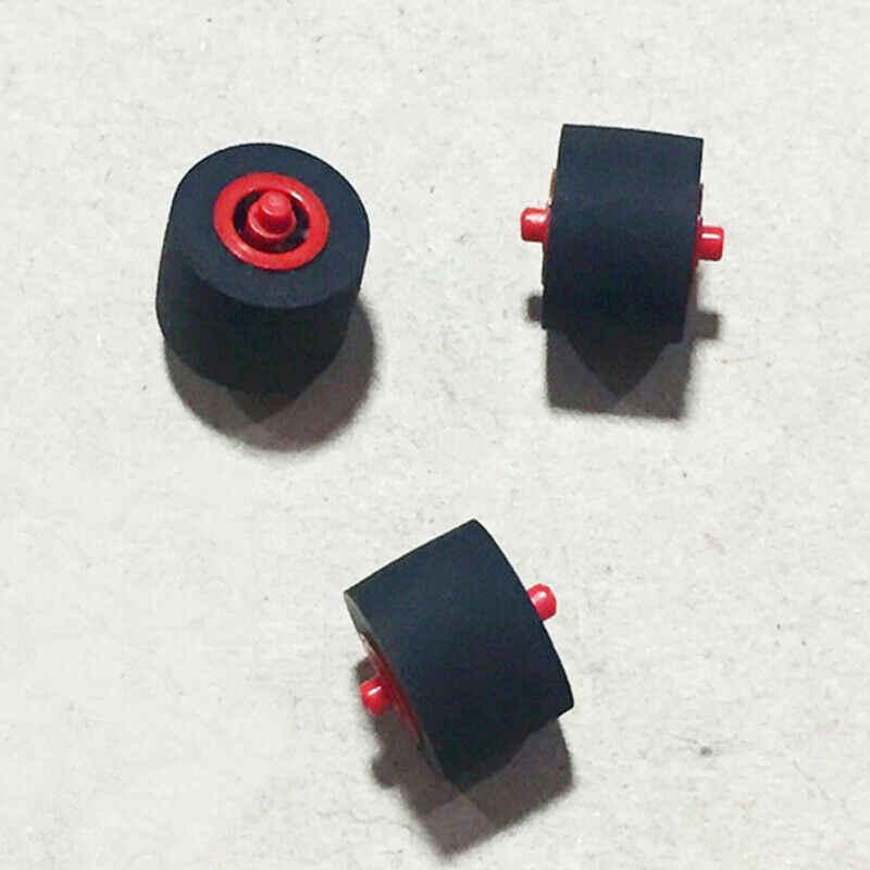 Polia audio da correia do assento do cartão do rolo da pitada de pressão 9mm * 6.3mm * 1.5mm núcleo vermelho axi gravador de fita amplificadores walkman roda da polia novo