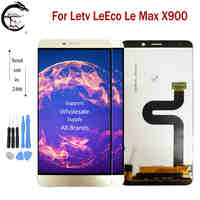 "6.33 ""LCD Per Letv LeEco Le Max X900 LCD Full Display Dello Schermo del Sensore di Tocco Digitizer Assembly di Ricambio Per LeMax x900 Display"