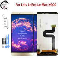 """6.33 """"LCD pour Letv LeEco Le Max X900 plein écran d'affichage à cristaux liquides capteur tactile numériseur assemblée remplacement pour LeMax X900 affichage"""