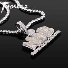 TOPGRILLZ-colgante de bolsa de dinero de lujo