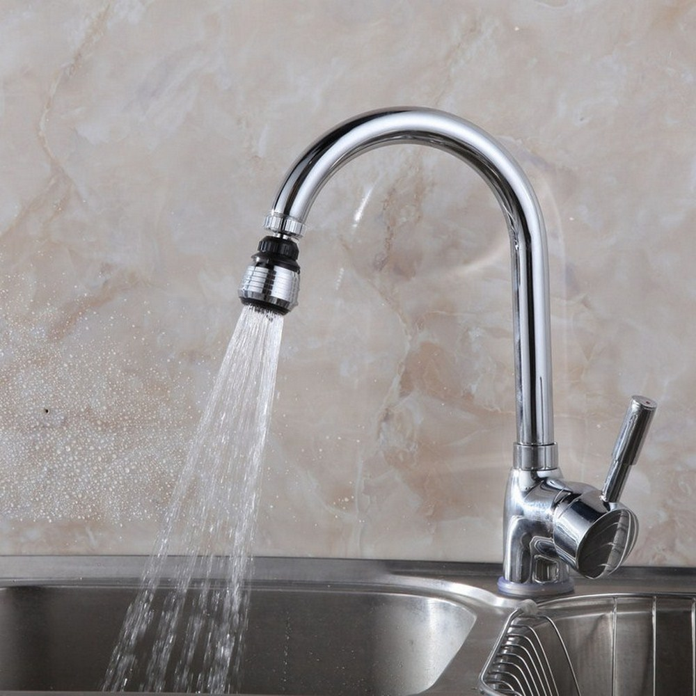 360 Rotating Kitchen Faucet Water Saving Taps Universal Diffuser Nozzle Taps Swivel Head Accessories Kitchen Faucet Nozzle
