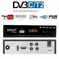 HD DVB T2 DVB C Set-top Box Digital Tv Box Dvb-t2 Tuner DVB-C For VGA Monitor Wifi USB TV Tuner DVB T2 IPTV Receiver AC3 Youtube