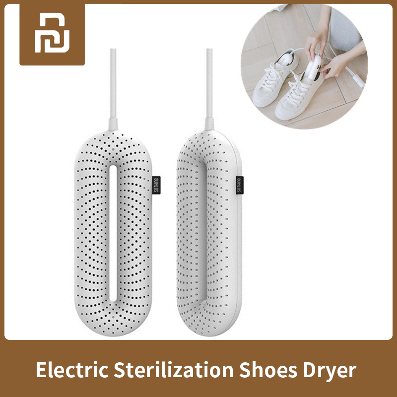 New Xiaomi Sothing Zero-One Portable Household Electric Sterilization Shoes Dryer UV Constant Temperature Drying Deodorization
