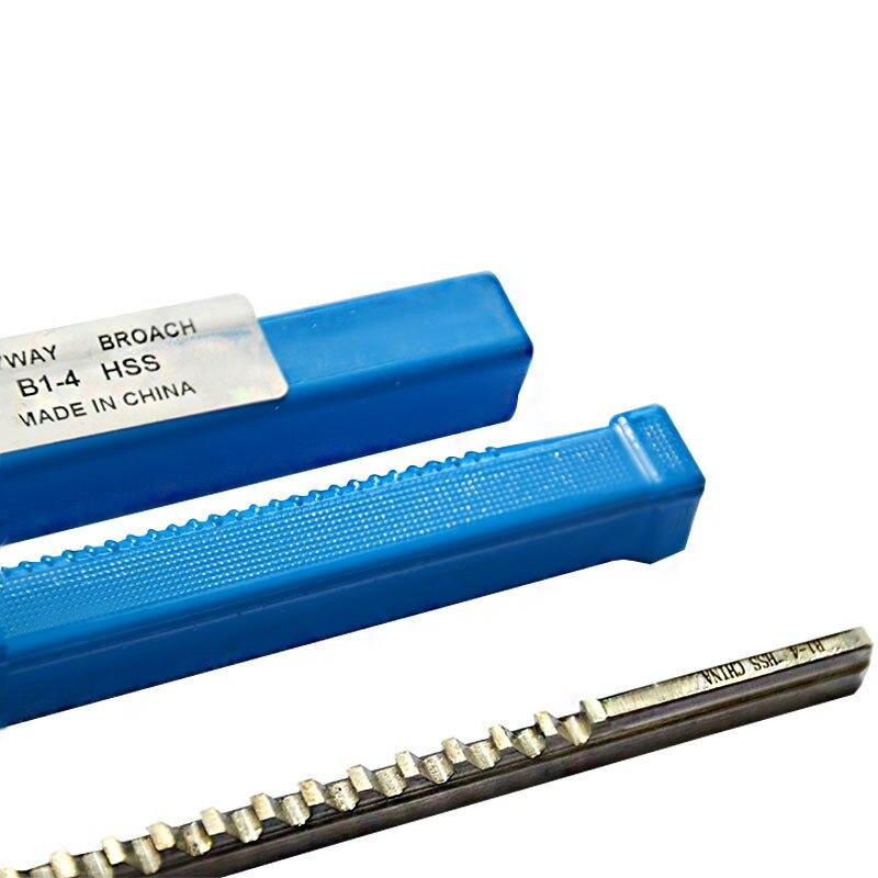 Ferramenta de Corte para Cnc Push-tipo Keyway Broache Tamanho Métrico Hss 4mm b1