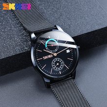 SKMEI Relogio Masculino 9182 Top Brand Luxury Men Quartz Watch Calendar Clock Compass Sport Watches Waterproof Male Wristwatch chenxi brand calendar gold quartz watches men luxury hot sale wristwatch golden clock male watch men saat relogio masculino 20