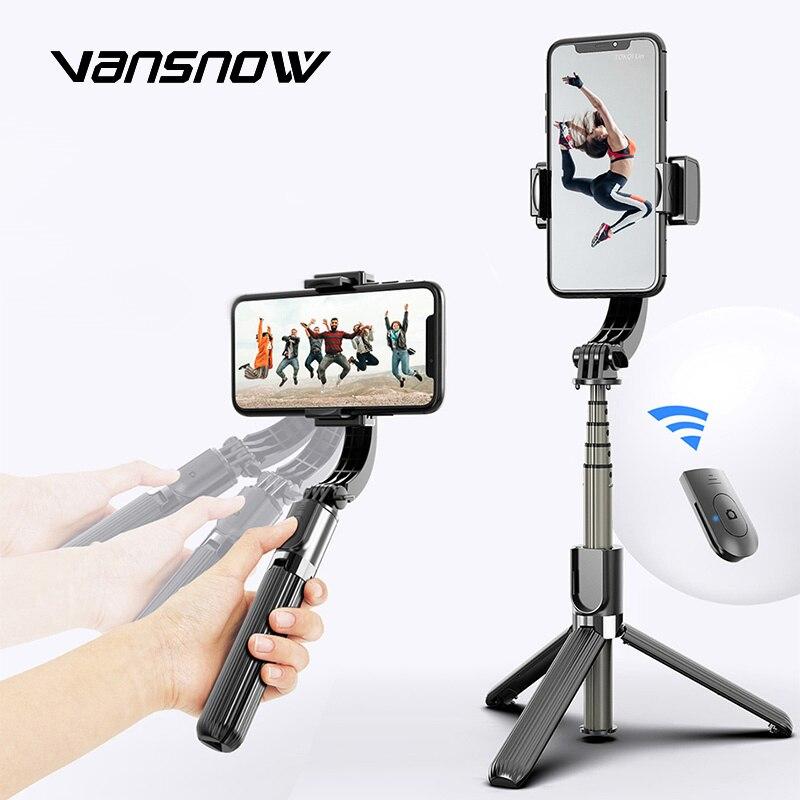 Trípodes inalámbricos Bluetooth para selfies, estabilizador de mano, cardán, Smartphone con control remoto de Selfie para IPhone, Android, cámara Gopro|Estabilizadores|   - AliExpress