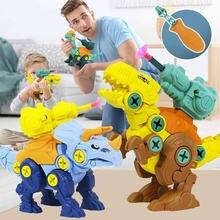 3 шт детская игрушка динозавр тираннозавр трицератопс Брахиозавр