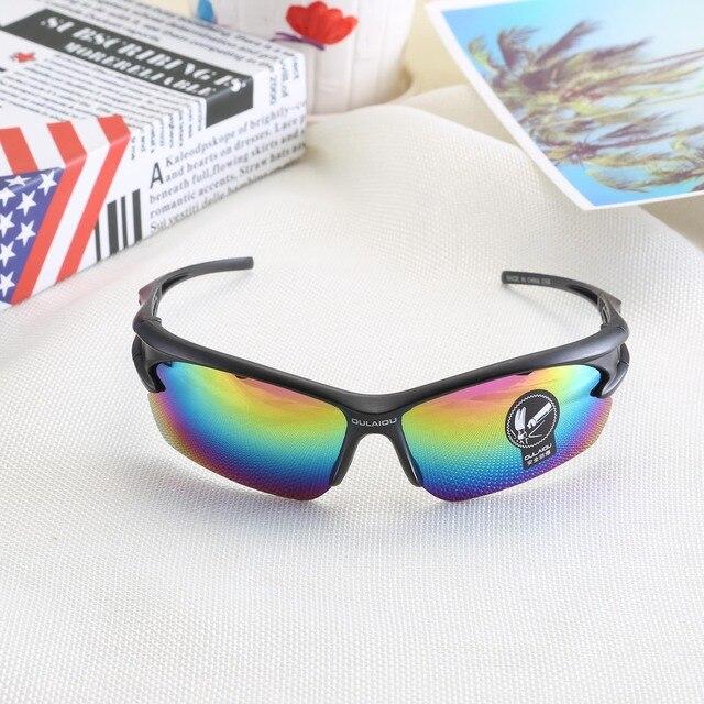 Óculos de sol para ciclismo proteção UV 400, proteção de olhos óculos de bicicleta Mountain Bike para ciclismo à prova de explosão esportes ao ar livre para moto 3