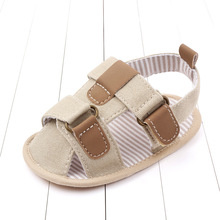 Boy Shoes Baby Prewalkers Summer Sandals New Cotton for 1-Year-Old Comfortable Toddler