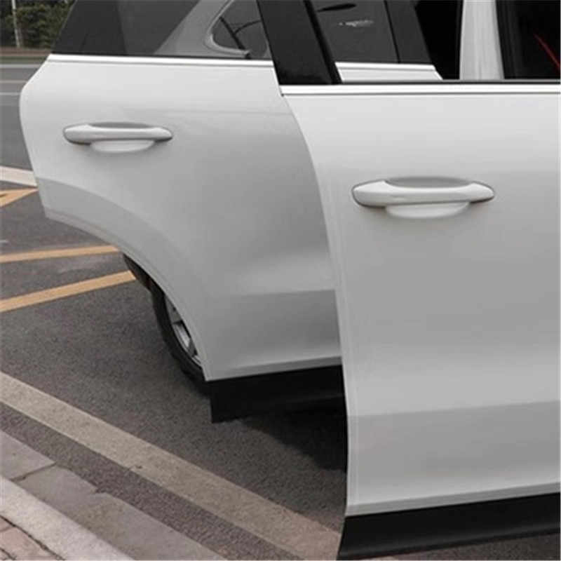 Accesorios antiarañazos para proteger la puerta del coche pegatinas para el coche Umbral de puerta etiqueta de protección multifunción Nano cinta de parachoques automático