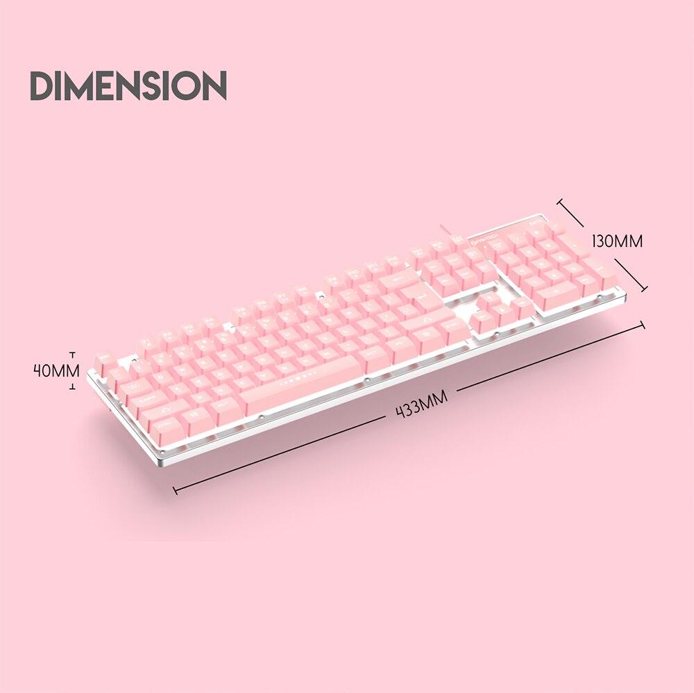 Fantech K613L Sakura Edition Gaming Keyboard 8