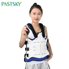 цена на Adjustable Thoracolumbar Orthosis Lumbar Spine Fixation Brace Thoracic Compression Fracture Support Bracket