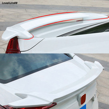 цена на For Honda Civic 10th 2016 2017 2018 2019 Exterior Rear Spoiler Tail Trunk Boot Wing Trim Frame Decoration Car Accessories