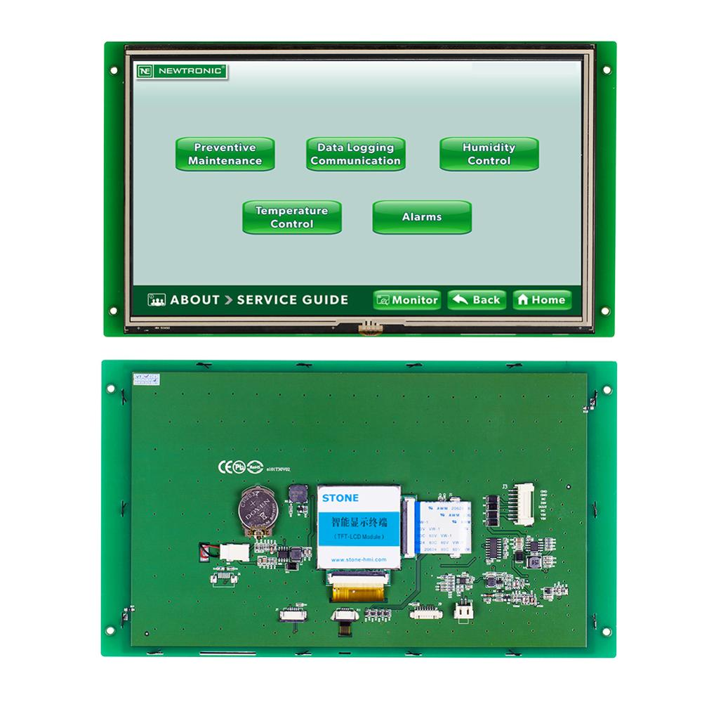 10.1 Inch RS232 Interface Controller LCD  Display System