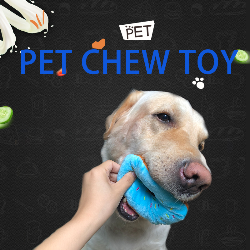 dog pet productsdog toysDonut toys for large dogs and small dogpuppy chew interactive toy