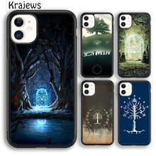 Krajews Tree of Life Lord of The Rings Phone Case Cover For iPhone 5s 6s 7 8 plus X XS XR 11 pro max Samsung Galaxy S7 S8 S9 S10(China)
