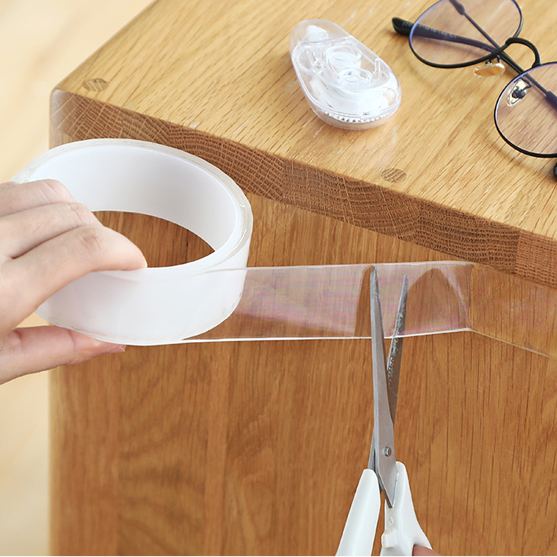 Magic-Tape Cleanable Transparent Waterproof Notrace Home-Storage