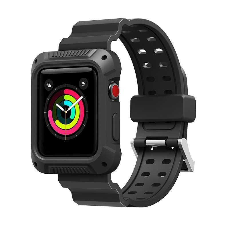 For Apple One-piece TPU Watch Strap, Suitable For Apple Watch Strap 4 Generation New Style Apple TPU Watch Strap New Style