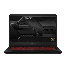 "ASUS TUF FX705GD-EW188T 17.3""FHD/i7-8750H/8GB/1TB/GTX 1050/noODD/Windows 10 Home/Black-Red matter(90NR0112-M04340"