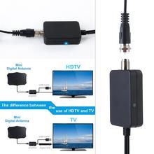 ТВ Антенна Усилитель сигнала Усилитель для кабельного ТВ антенна адаптер USB низкий уровень шума Простая установка цифровой HD DVB-T2 ATSC оптовик