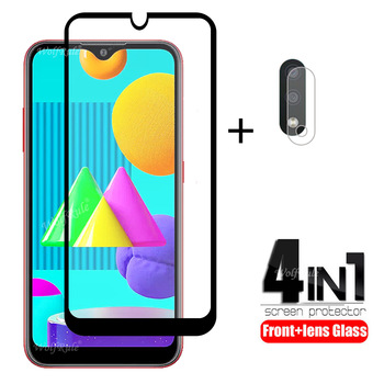 4-in-1 For Samsung Galaxy M01 Glass For Samsung M01 Tempered Glass Protective Glass Screen Protector For Samsung M01 Lens Glass protective tempered glass screen guard membrane for samsung note 4 transparent