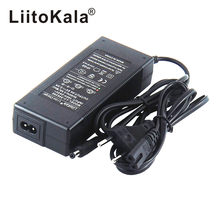 Зарядное устройство Hk liitokala, 54,6 в, 13 с, 48 В, 2 А, литий-ионный аккумулятор, выход постоянного тока, 5,5*2,1 мм, 54,6 в, литий-полимерное зарядное устрой...