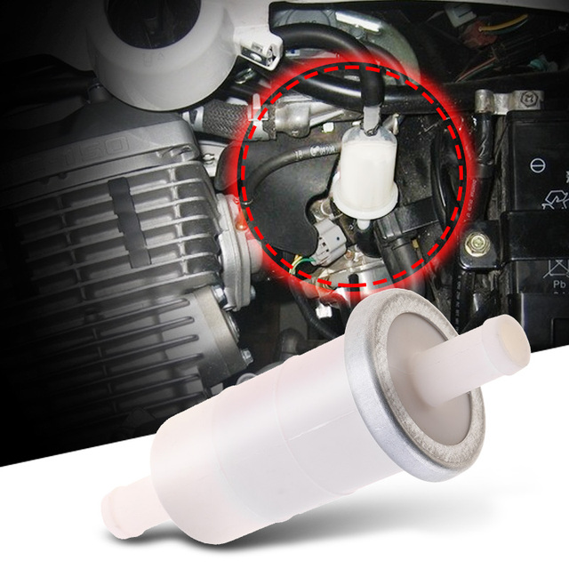 אוניברסלי אופנוע 10mm ב קו גז קרבורטור דלק מסנן עבור הונדה CBR קוואסאקי עבור ימאהה סוזוקי וכו אופנוע אבזרים