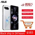 Глобальная прошивка ASUS ROG 5 5G игровой смартфон 16 ГБ 128/256 ГБ Snapdragon888 Android 11 Чехол для мобильного телефона 6000 мА/ч, Батарея 65 Вт устройство для быс...