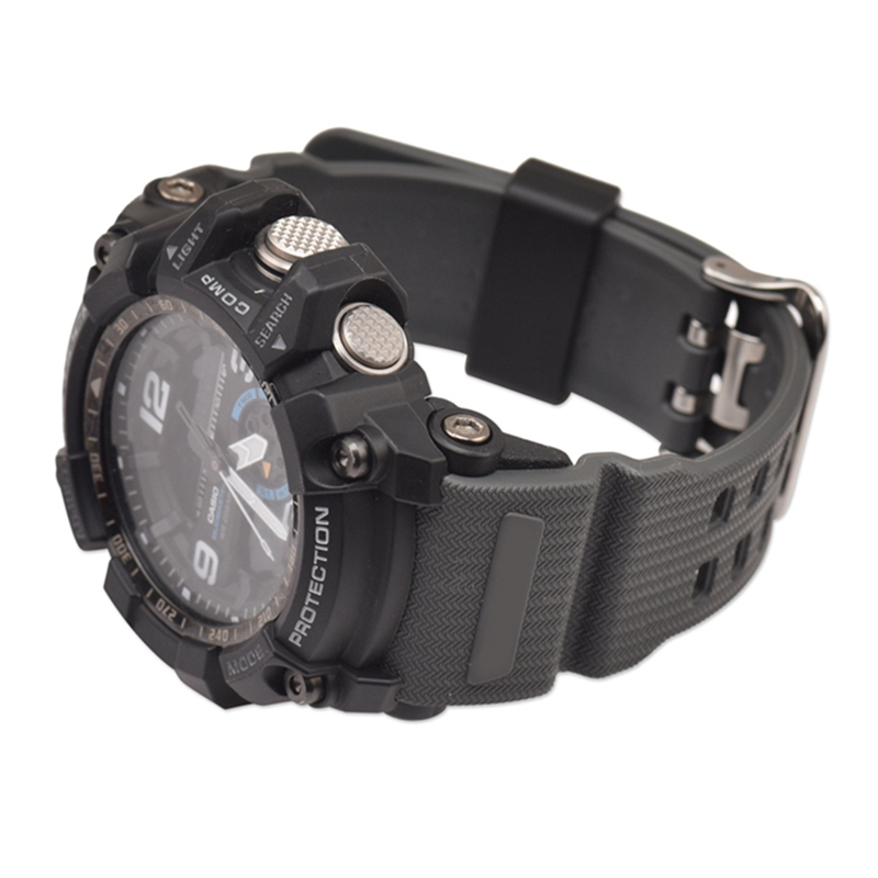 Watch Strap Pin Buckled Resin Wristwatch Bands Replacement Accessories For Casio GG-1000/GWG-100/GSG-100 image