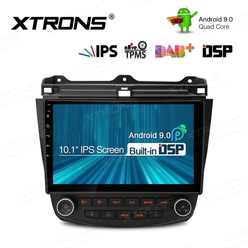10,1 ''IPS <font><b>Android</b></font> 9.0 DSP Auto Multimedia Stereo Radio Player für HONDA <font><b>Accord</b></font> 2002-2007 Links Hand Stick GPS navigation image