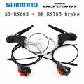 SHIMANO ULTEGRA ST RS685 + RS785 Гидравлический дисковый тормоз двойной рычаг управления 2x11-Speed ULTEGRA RS685 переключатель