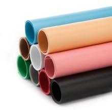 68*130 centimetri di Colore Solido Opaco Frosted PVC Piastra di Fondo Photography Sfondo Sfondo di Panno Impermeabile Anti rughe