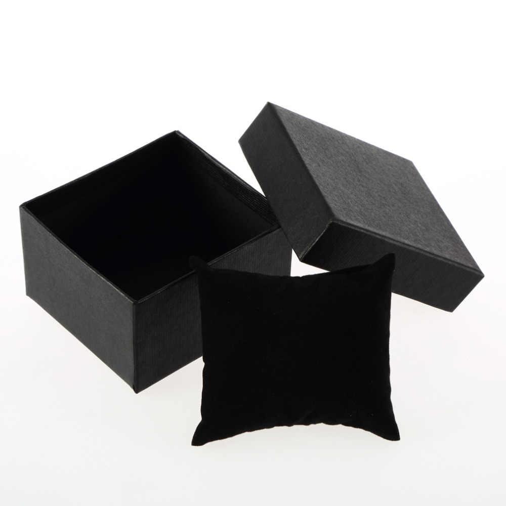 Caja de reloj de lujo soporte de joyería caja de almacenamiento organizador presente caja de regalo para pulsera caja para brazalete esclava de joyería Dropshipping