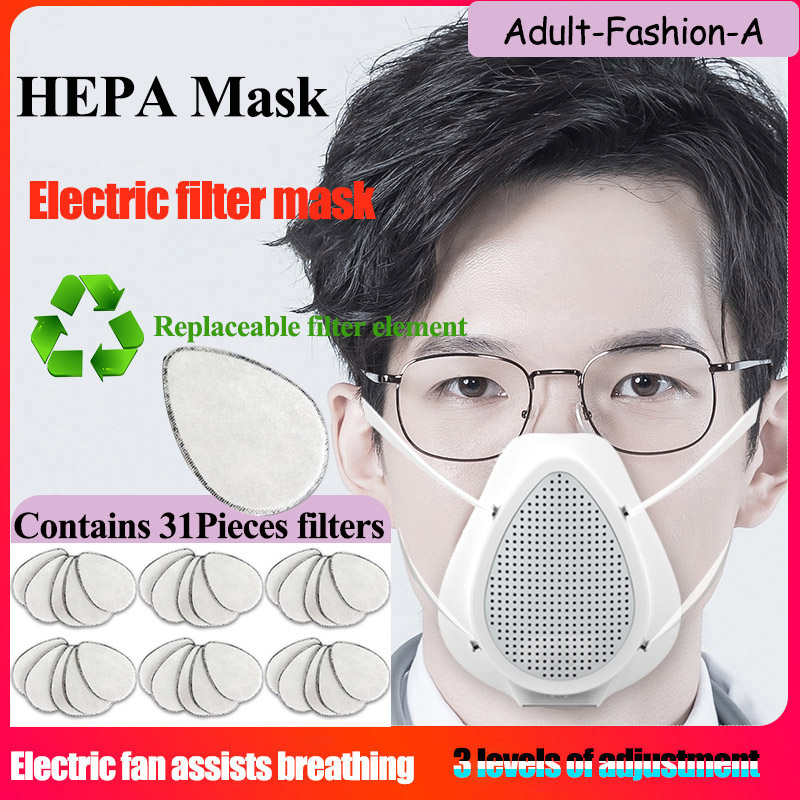 Immediate Shipment  Electric KN95 Mask  Mouth Face Mask Dust Anti Infection KN95 Masks  Same Protective As KF94 FFP2 N95