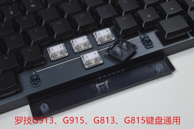 1 Full Set Original Translucent Key Caps For Logitech Keyboard G913 G915 G813 G815 2nd Generation Backlit Keycaps With Box