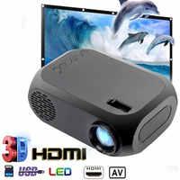 2 couleurs chaudes BLJ-111 LCD FHD projecteur intelligent 3D 1920*1080P Mini Interfaces projecteur prise en charge USB AV HDMI film Home cinéma