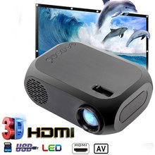 HOT 2color BLJ-111 LCD FHD Smart Projector 3D 1920*1080P Mini Interfaces Projector Support USB AV HDMI Movie Home Cinema