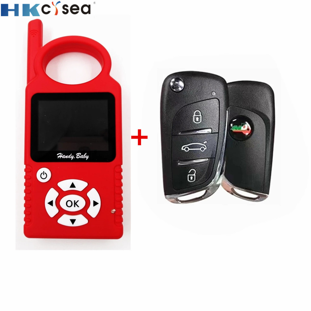 V9.0.5 Handy Baby Can Generate Remote Auto Key Programmer For 4D/46/48 Chips Support Multi-languages With 1pc JMD Super Remote